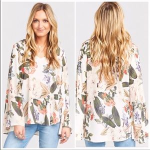 SHOW ME YOUR MUMU Hippie Dippie Floral Swing Top